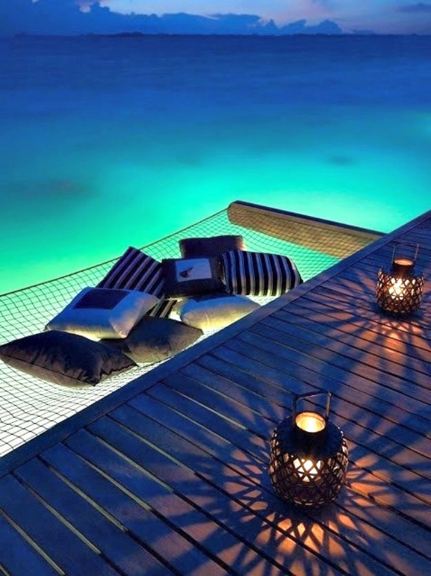 Perfect Hammock  Source: One & Only Reethie Rah, Maldives