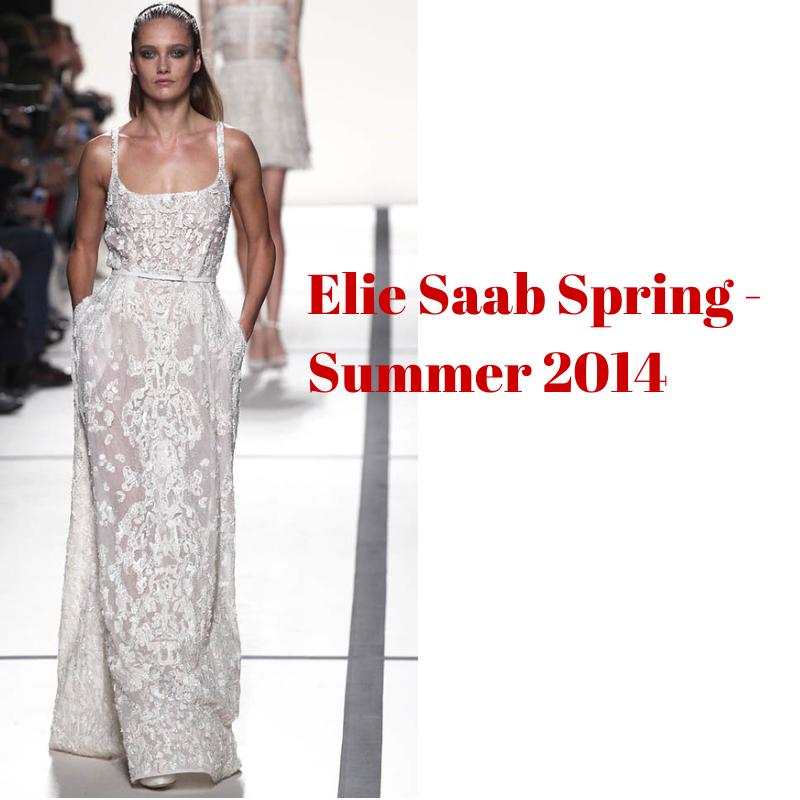 Elegant white lace