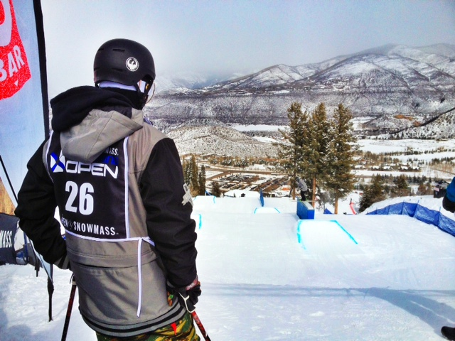 Nicky Keefer before dropping in - Photo by: Me