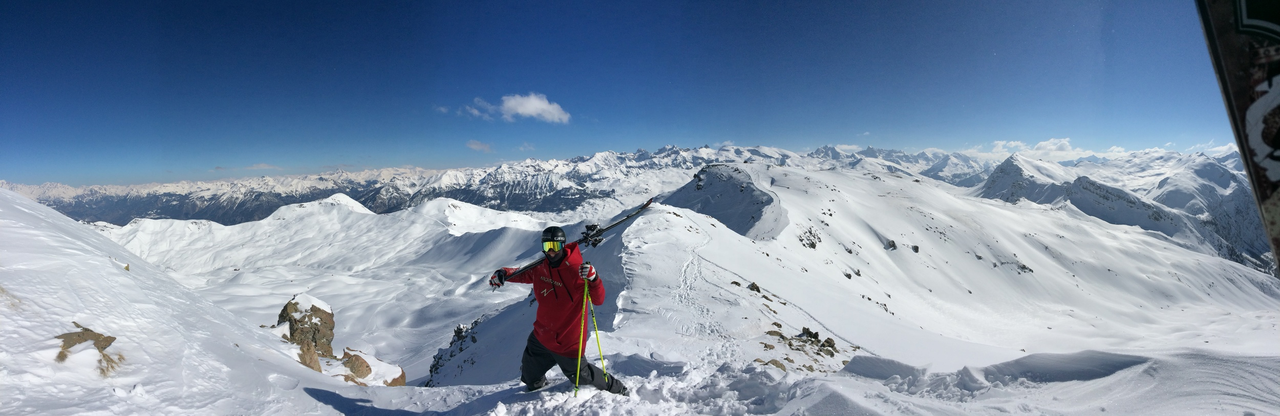 Alps panorama of Robby