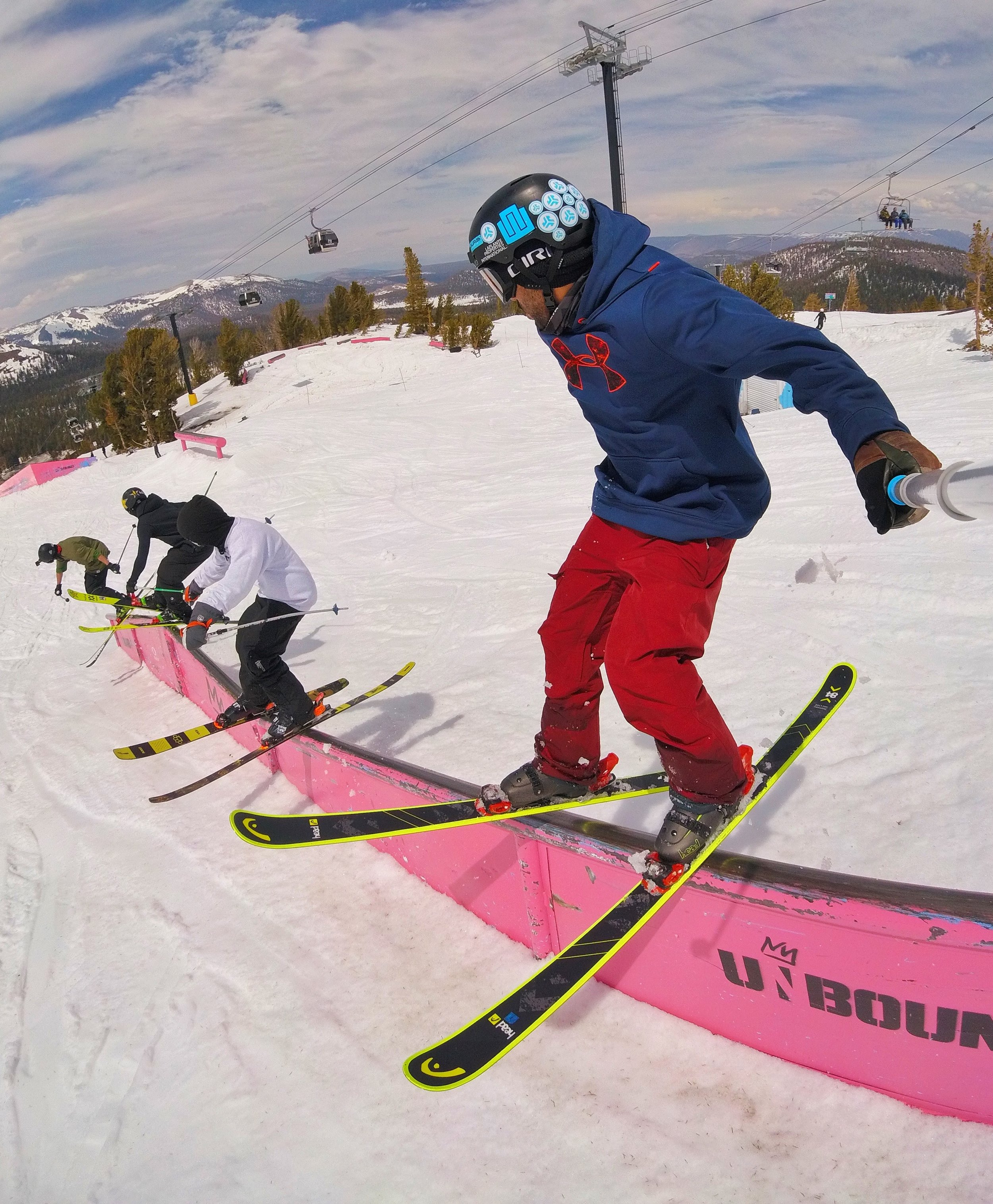 Rail train with John Brown, Willie Borm, and Cody LaPlante