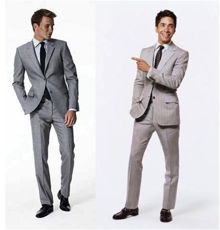 Light Grey Suit_Terno cinza claro