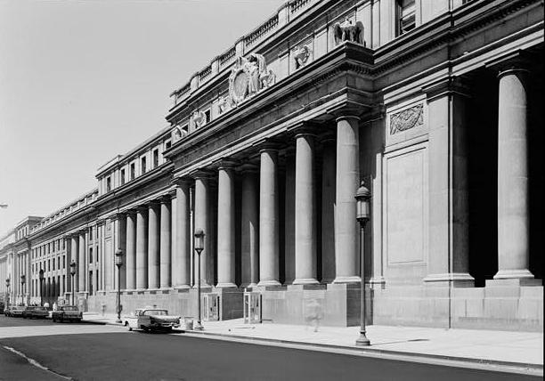 Penn Station's Eastern Facade