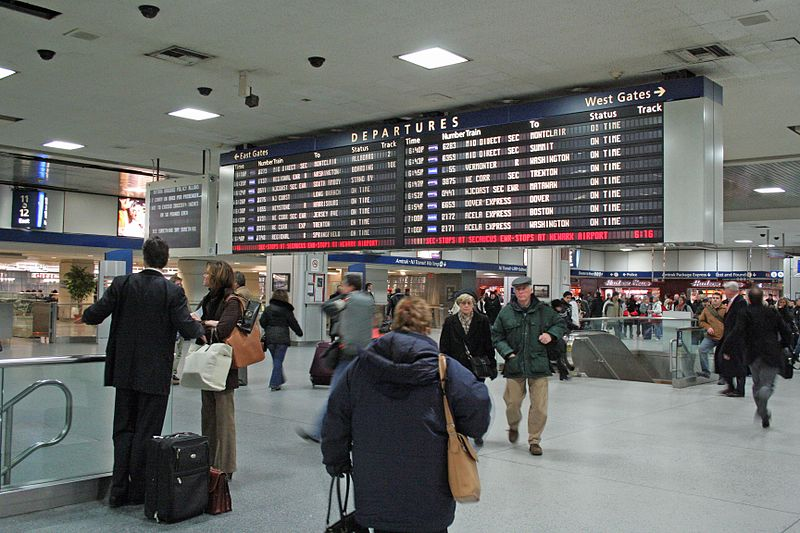 Current Penn Station