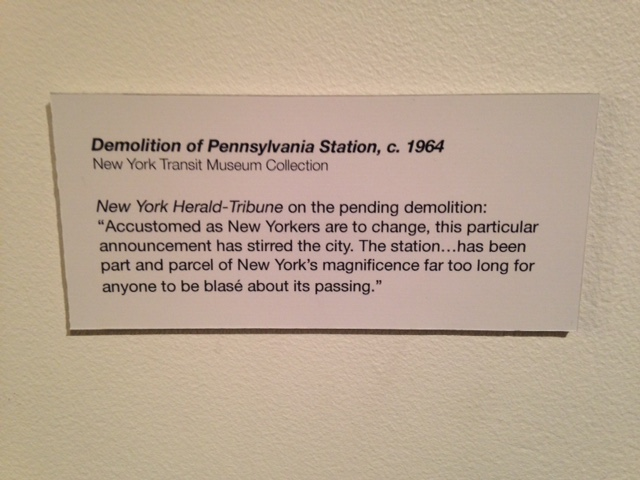 Taken from the New York Transit Museum's Landmark's exhibit currently up at Grand Central Terminal