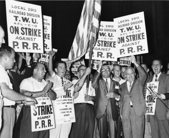 T.W.U. Strike (1960)     Special Collections Research Center, Temple University Libraries