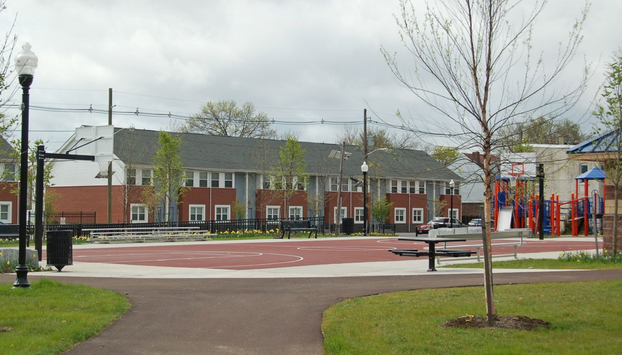 BCHT Homes As Seen From Greg Grant Park