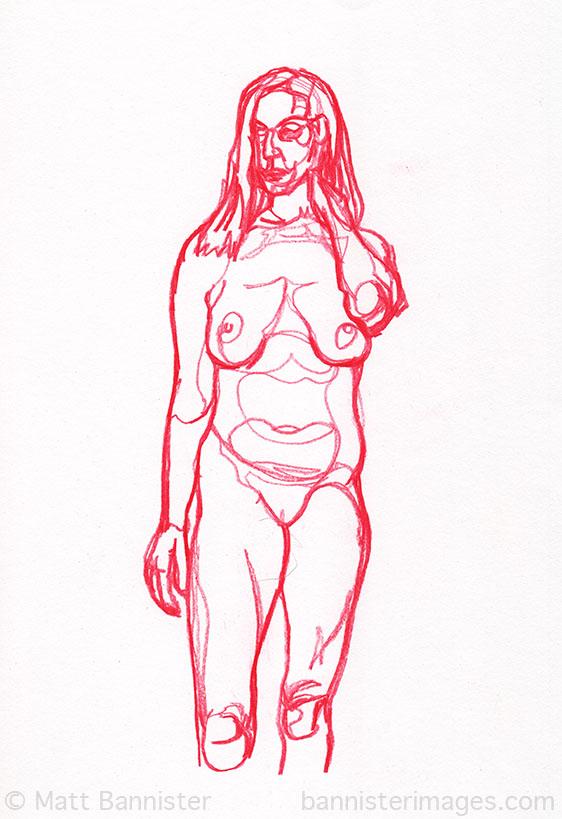 Life Drawing 29th July 2013
