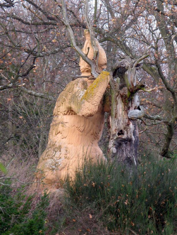Statue of an Megatherium