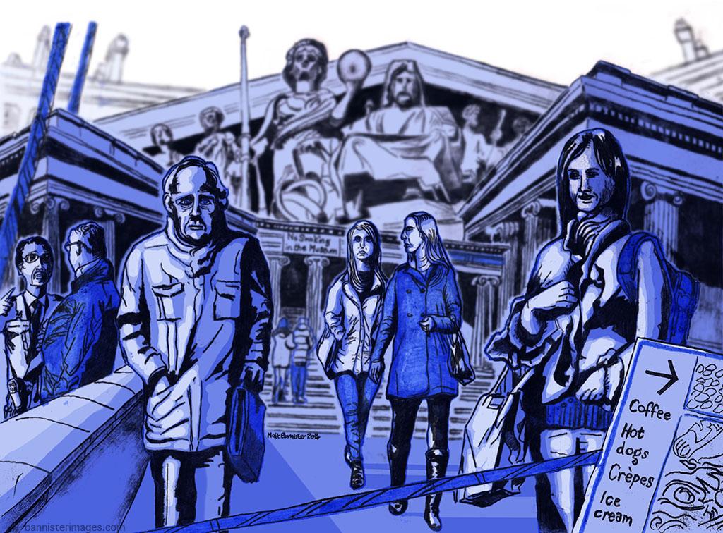 Illustration of the British Museum