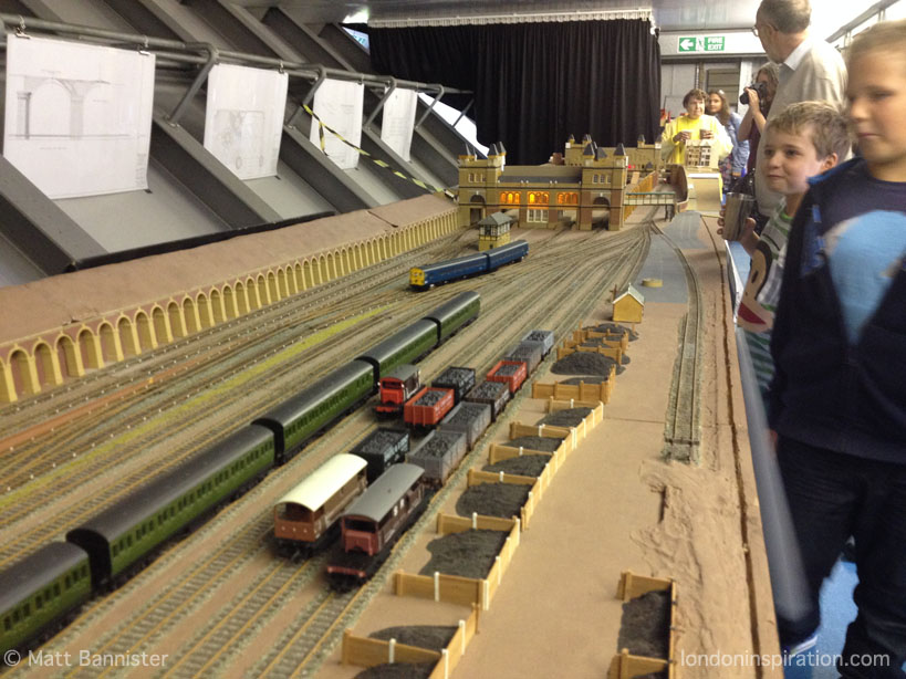 large scale model railway