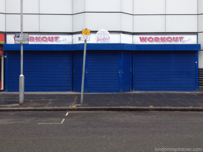 a vacant shop unit