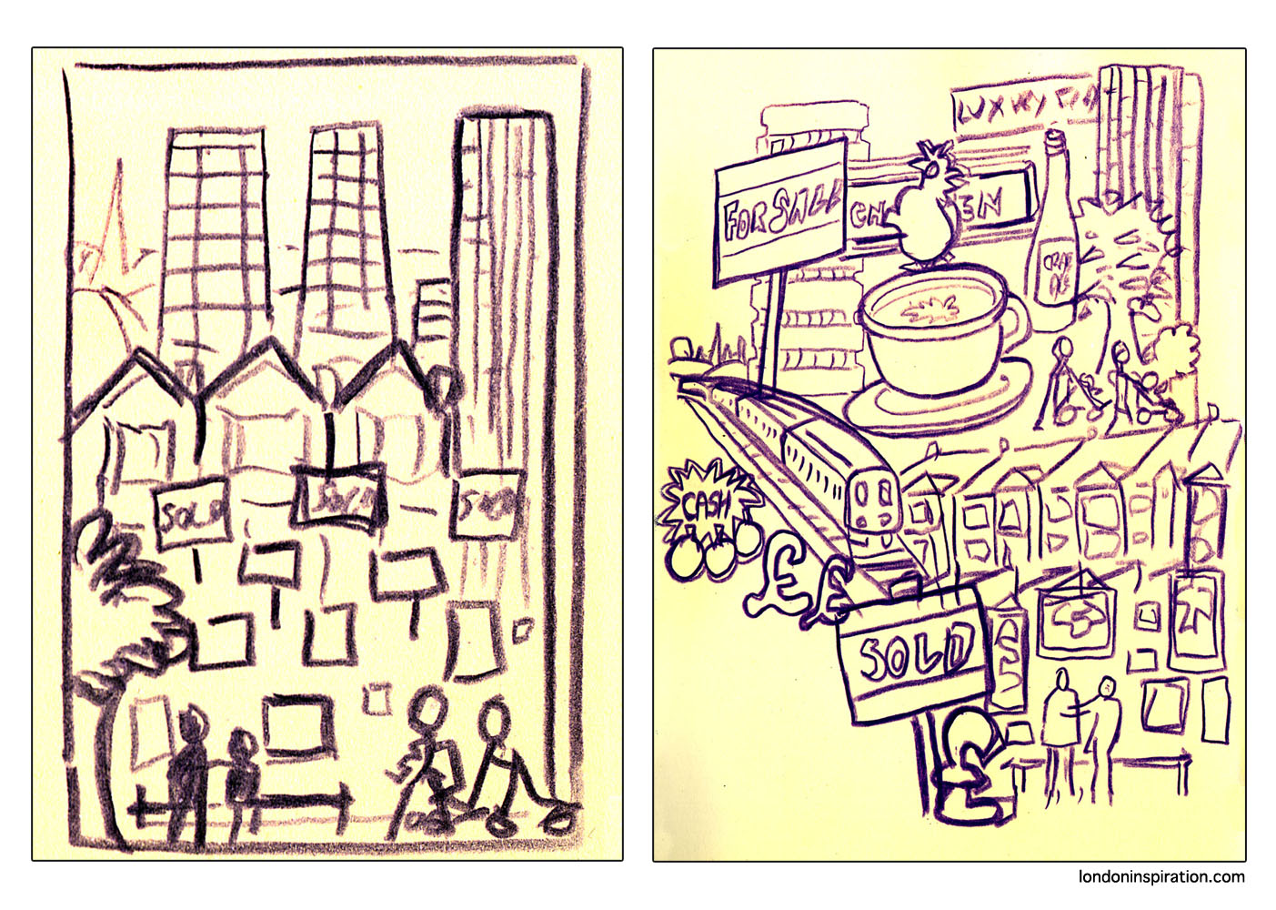 Sketches of Croydon