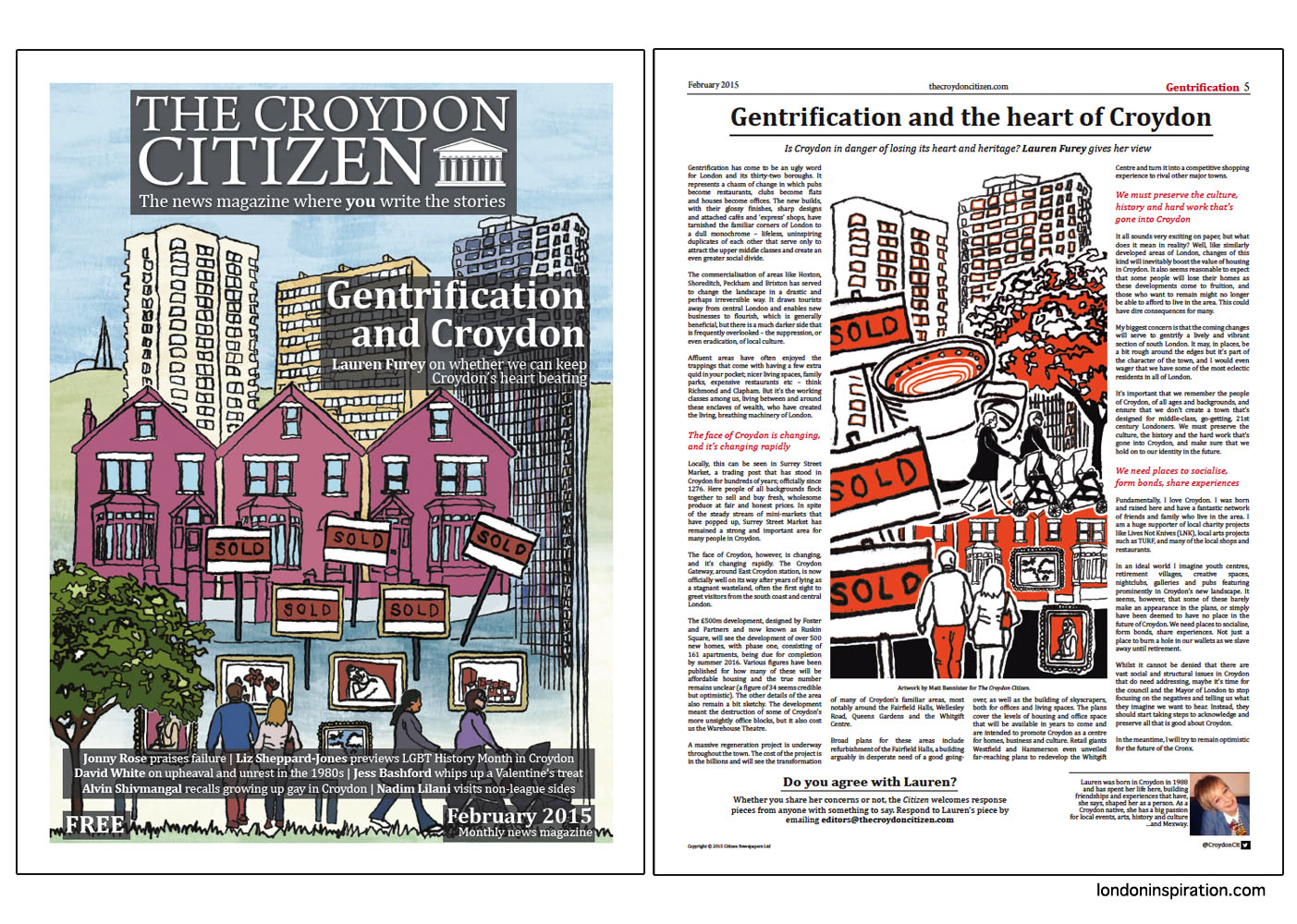 Illustrations of Croydon