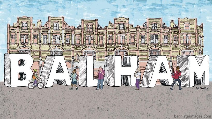 illustration of Balham High Road