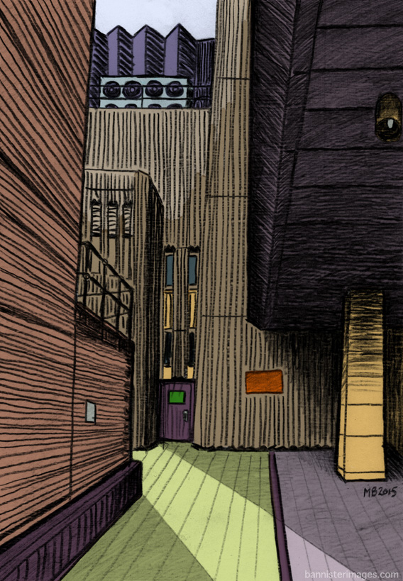 illustration of Hopton Street SE1