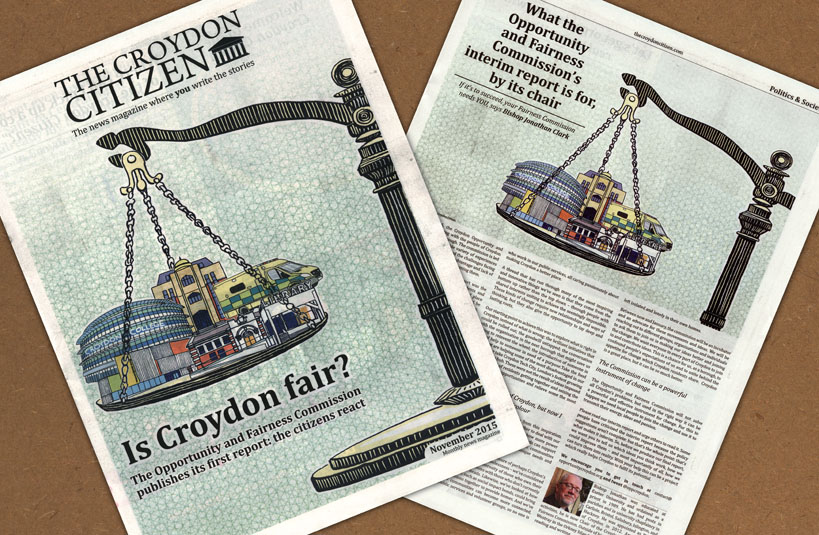 Croydon Citizen fair spread 819