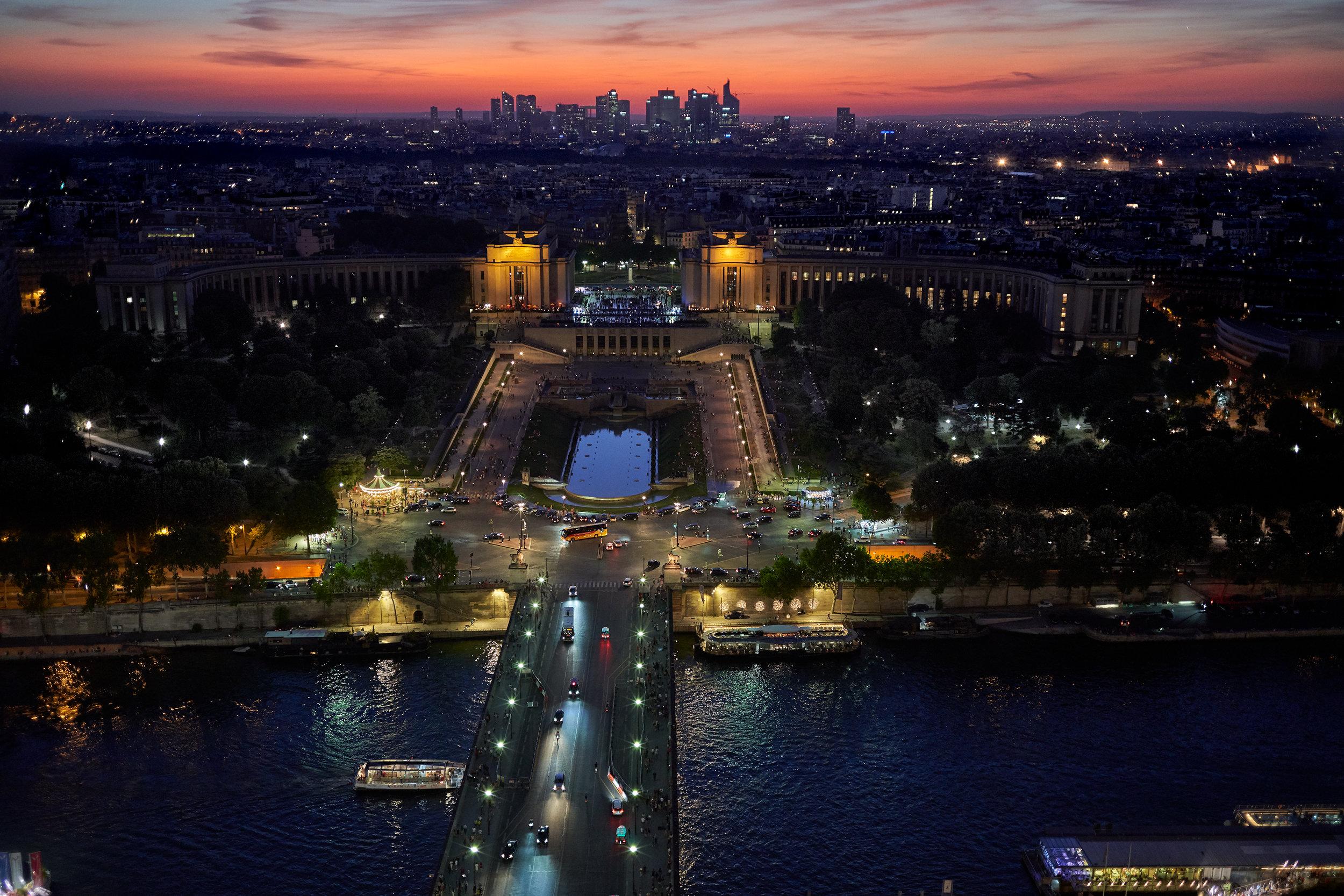 Dusk Paris