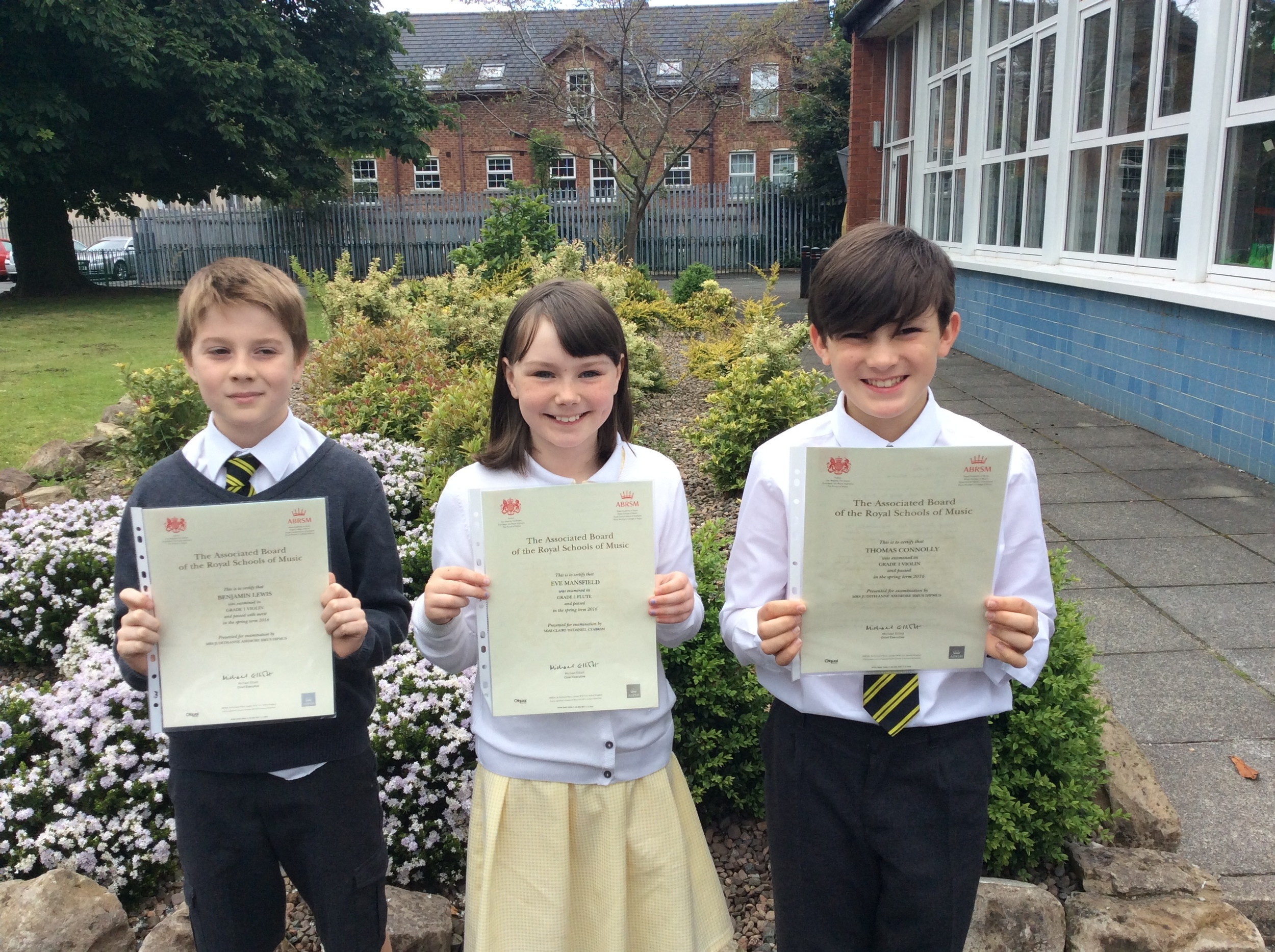 Music Exam Success — Holywood Primary School