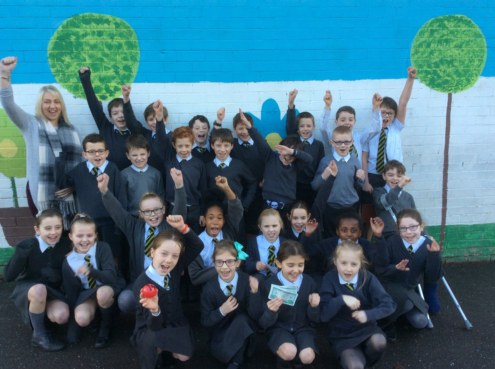 Happy Days for Mrs Brown's P5 class!