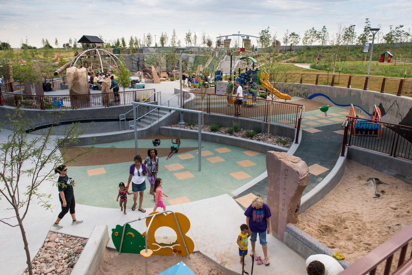 Colorado playground playground for all ages