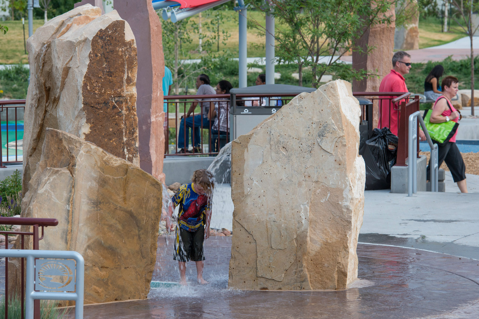 Colorado playground water splash pad