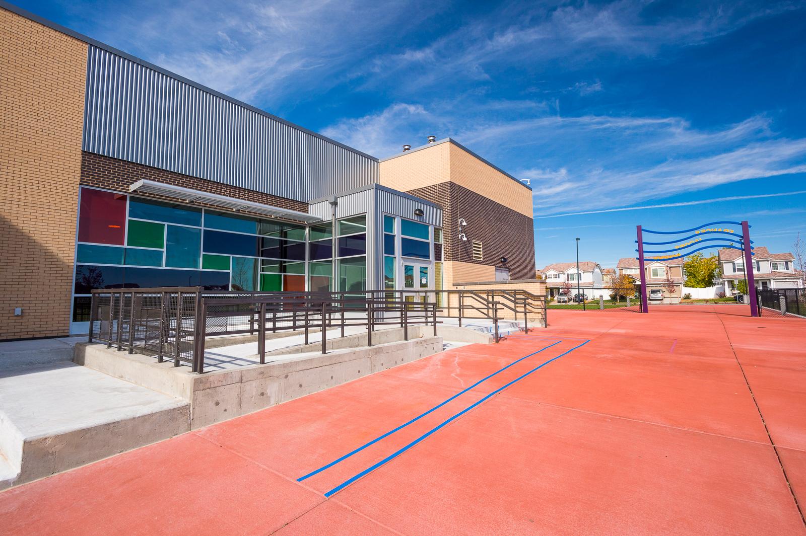 learning landscape architecture school site playground denver