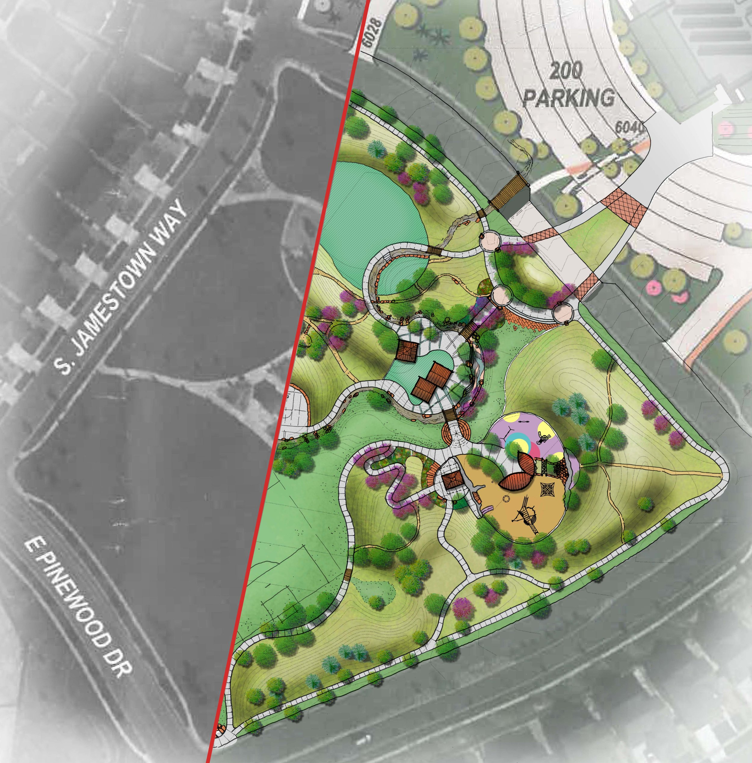 GOCO grant funds helped provide planning design for the redevelopment at Wheatlands Park
