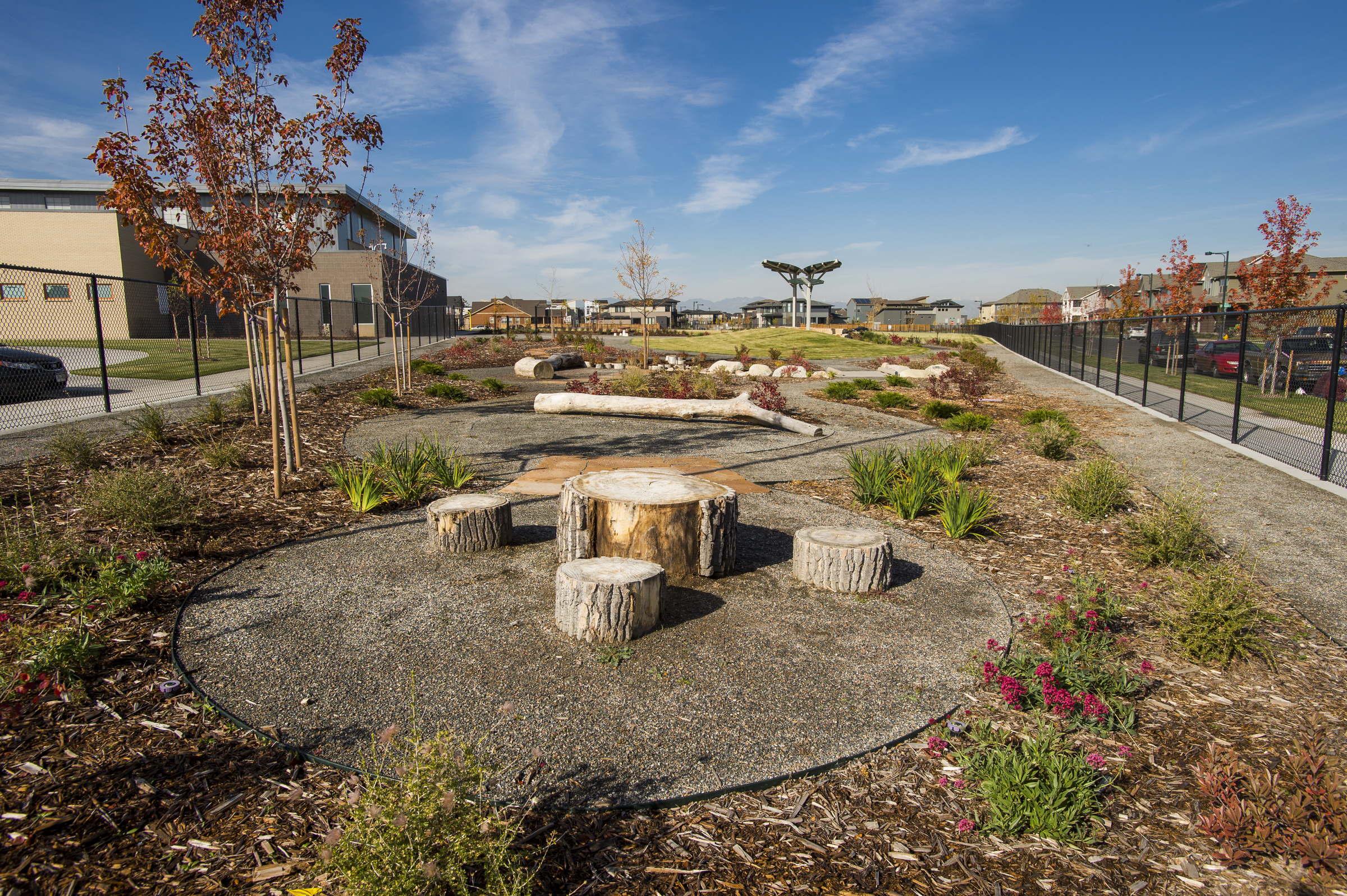 Conservatory Green K-8 High Tech Elementary learning landscape Denver Public Schools