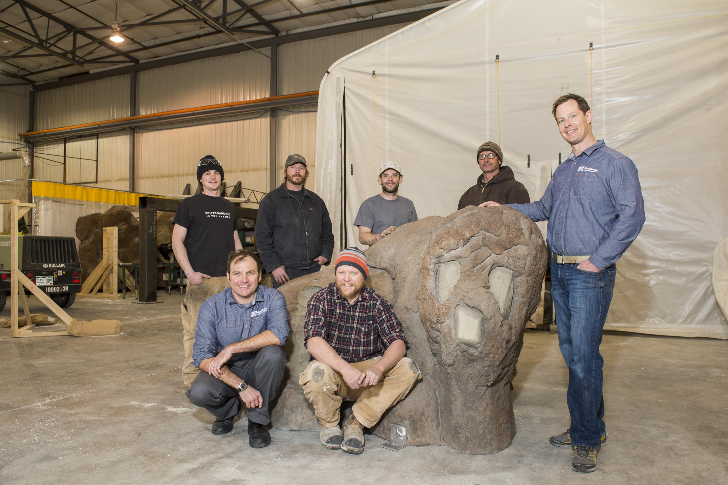 The IDSculpture team
