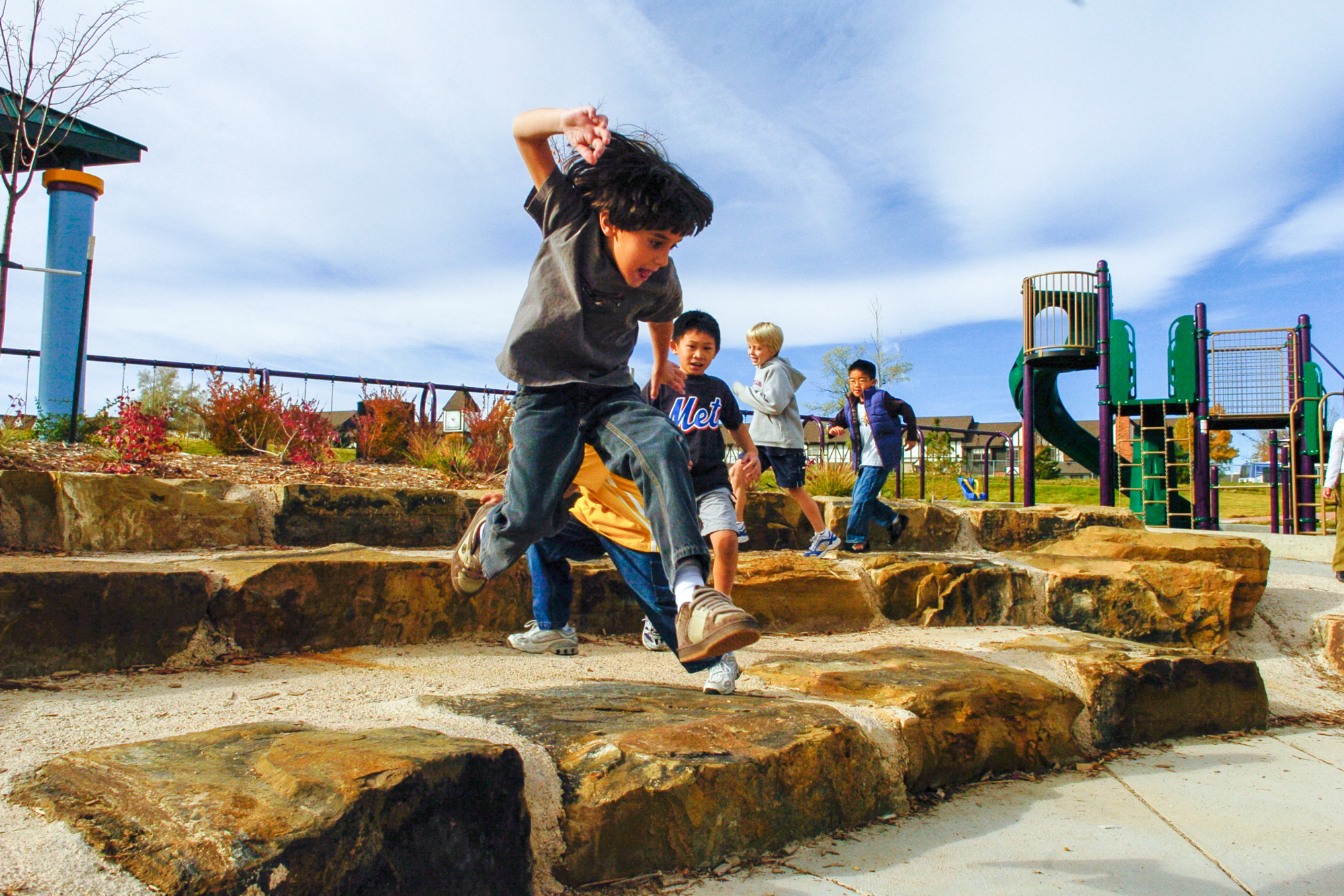 School playground learning landscape outdoor classroom amphitheater