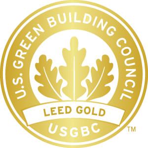 USGBC LEED seal certificate Gold