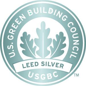 USGBC LEED seal certification Silver