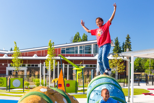 All accessible inclusive playground