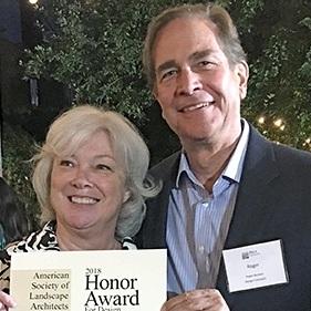 Carol Henry and Roger Burkart | 2018 CASLA Honor Award