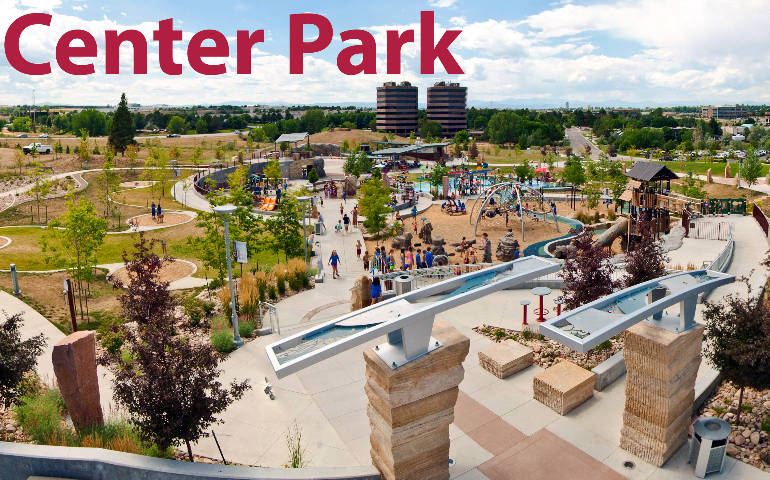 Axel's    Center Park    in Centennial has won numerous industry awards. Last year it was voted one of the Top 10 Splash Pads in USAToday's Readers Choice Awards.