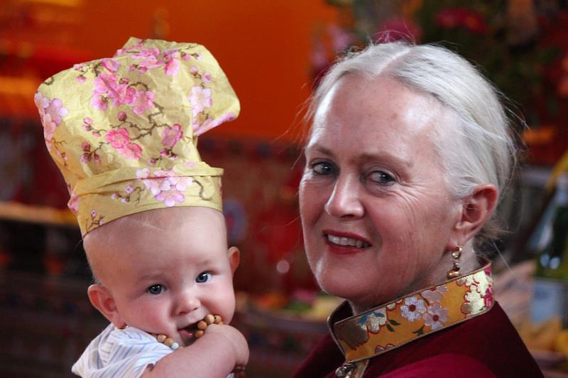 Triple grandmother Tsultrim Allione