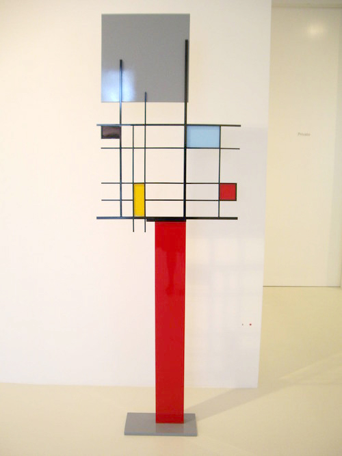 Peter D. Cole, Primary Composition Modern 2, 2007, Painted and patinated brass steel and aluminiu.JPG