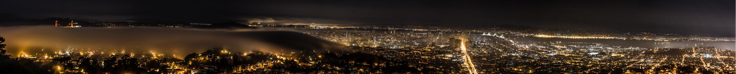 San Francisco Skyline from Twin Peaks