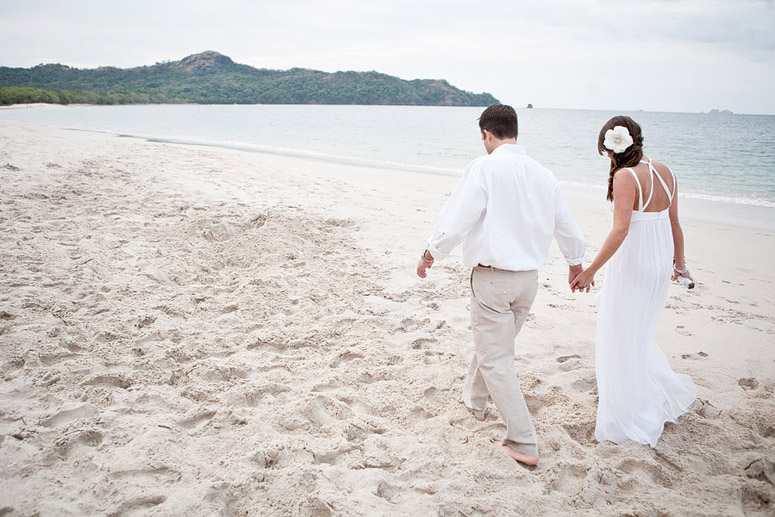 Playa Conchal is an ideally quiet and tranquil place to have a Destination wedding.