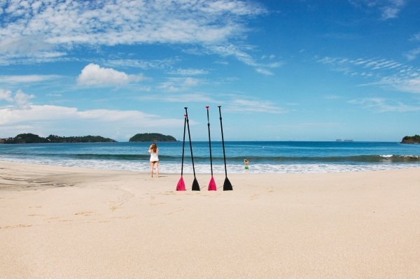 Try stand-up paddle boarding with Point Break Surf!