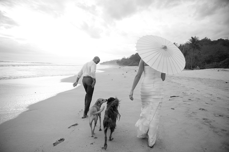 The beach at Santa Teresa is definitely a popular spot for weddings. Its hard to deny how beautiful and perfect it is for your big day.