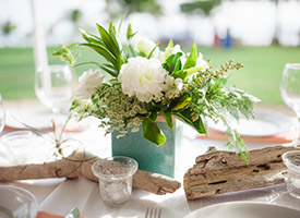 The Four Windswedding planningand design team is committed to creating stylish events for those looking for a tropical soiree with artistic, inspired details.