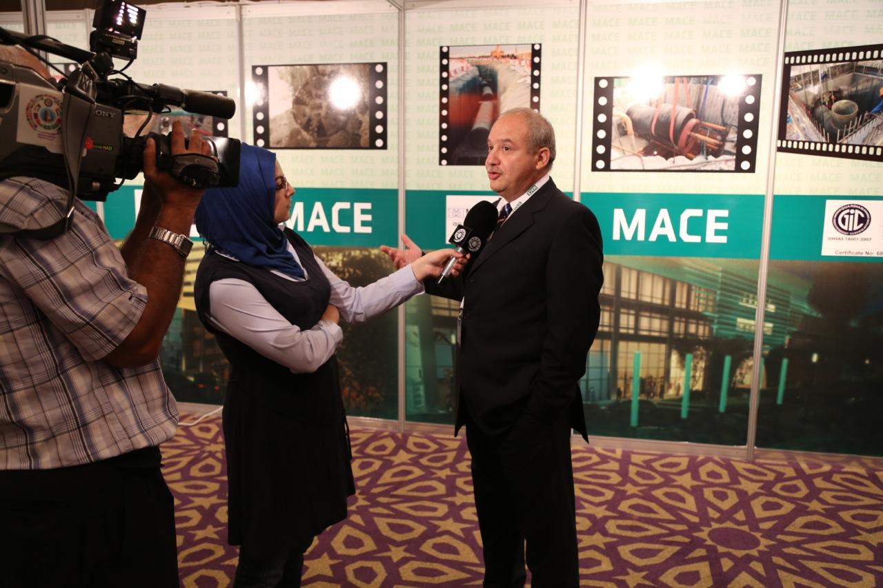 Nidal Salameh, Managing Director, MACE Qatar