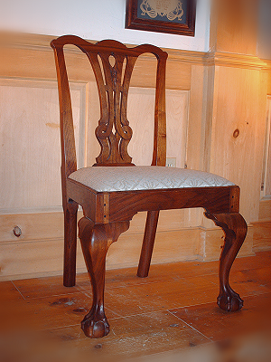 Chippendale side chair