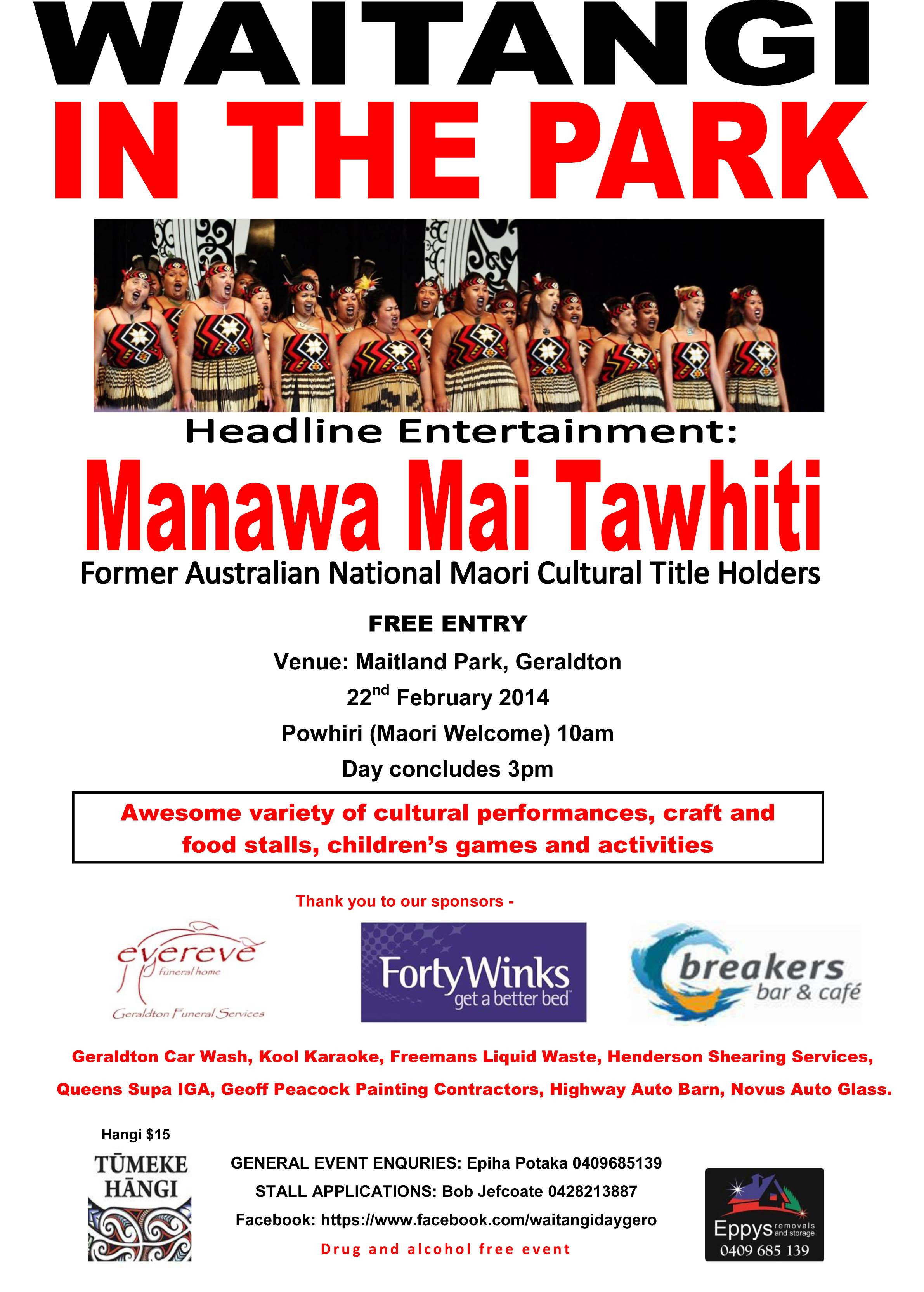 Waitangi in the Park 2014 Flyer.jpg