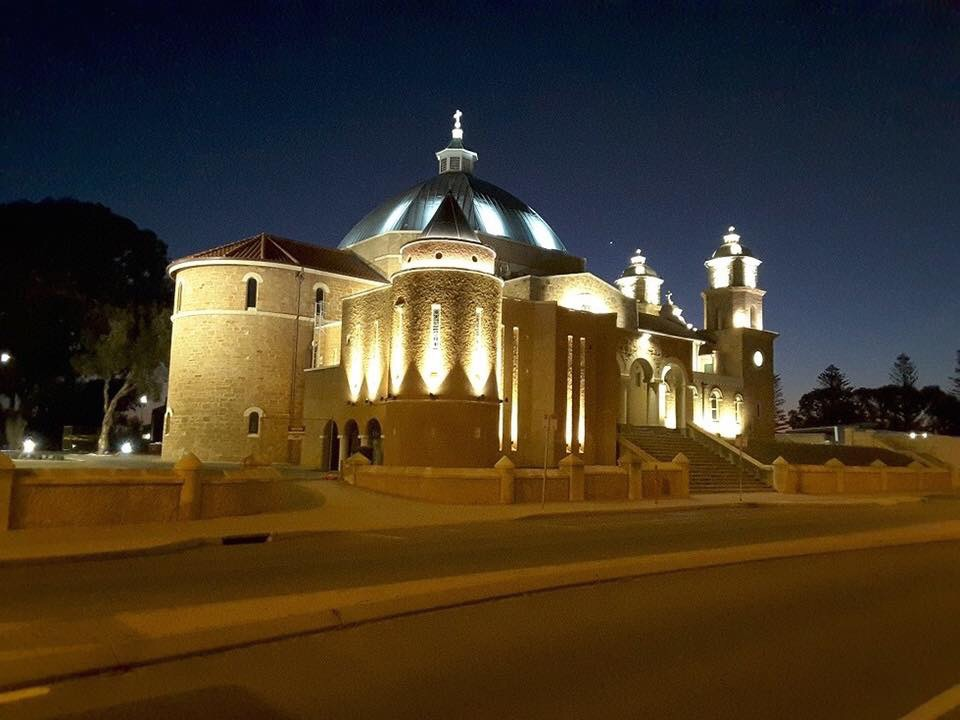 Thanks to S&K Electrical for the images. St Francis Xavier Cathedral.
