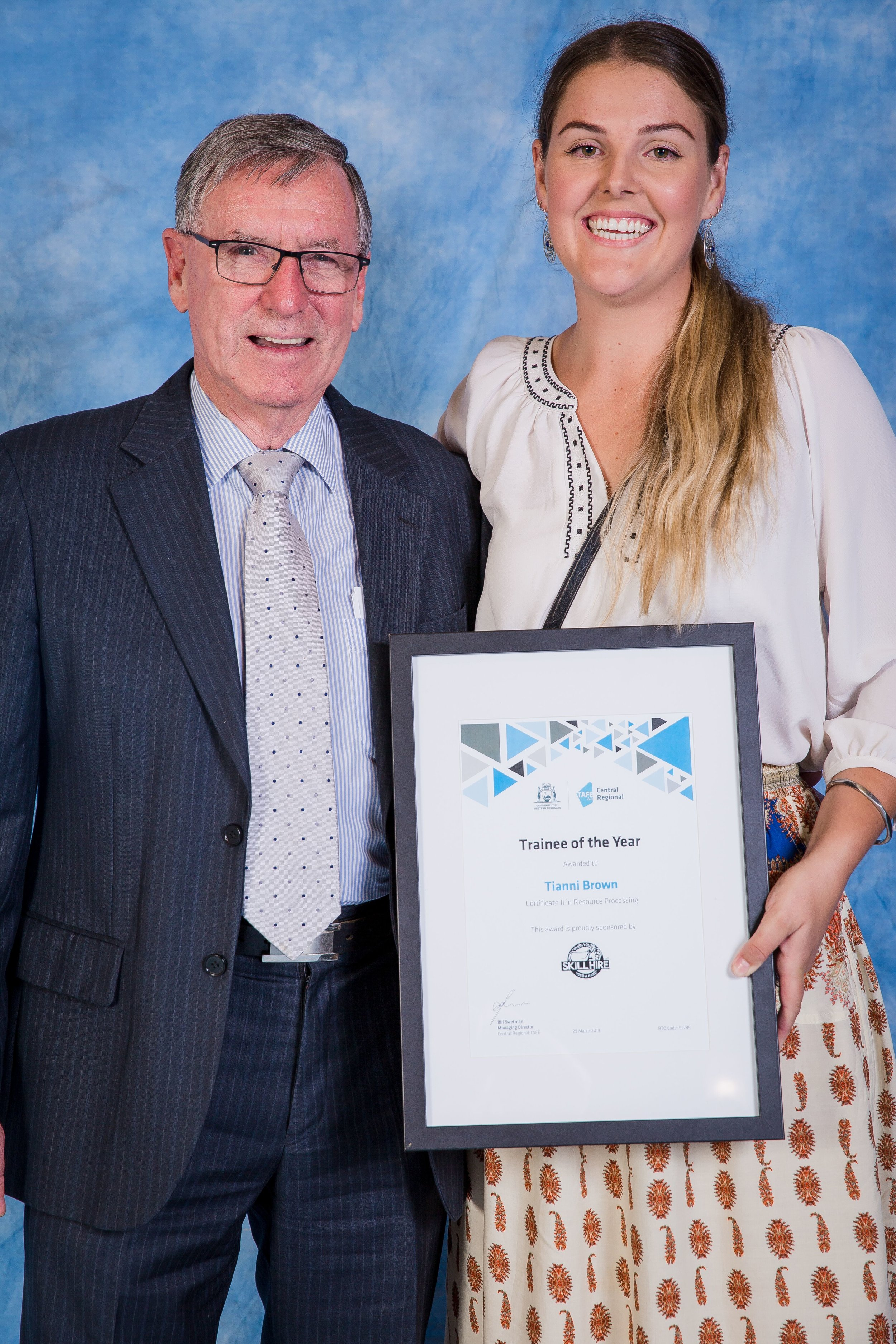 Humfrey Land Developments Trainee of the Year, Tianni Brown