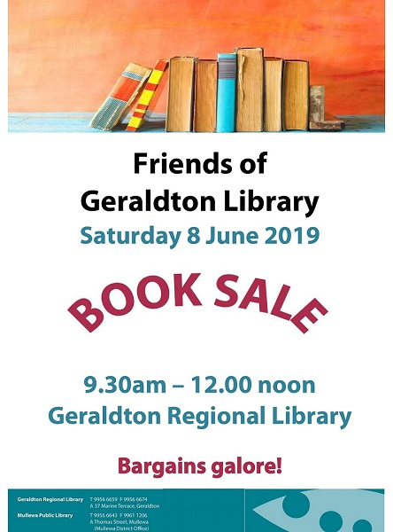 Microsoft Word - 2019 - FOGL Book Sale - 8 June_2