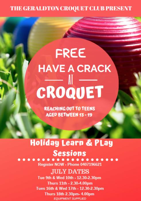 FREE Croquet